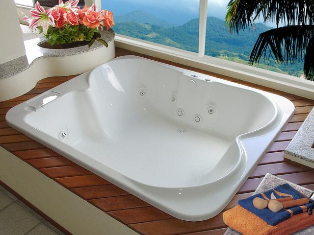 Tipos de banheiras para hidromassagem