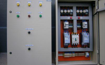 Automação de Quadros de Comando para Bombas e Pressurização