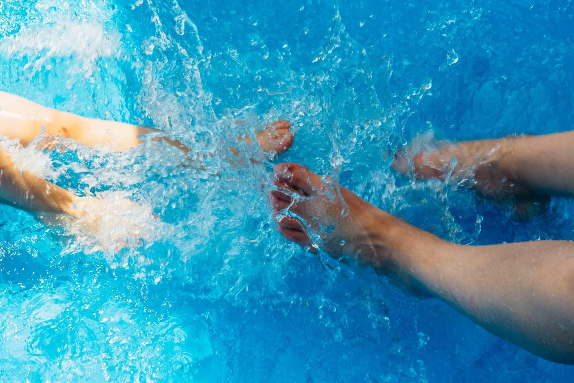 Como tratar água de piscina inflável?
